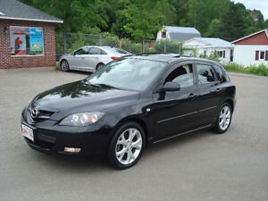 2008 Mazda 3 GT Hatchback - 2.3L 4CYL - 5 SPEED - NEW MVI!!