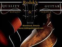 Rodak's Guitar Repair and Service