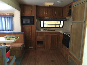 one bedroom trailer at Private Lot