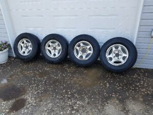 245/70r16 tires and rims