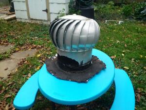 12 inch Turbine Roof Vent