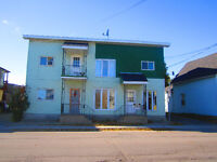 2 bedrooms apartment $575 + heat and hydro -Hawkesbury,ON