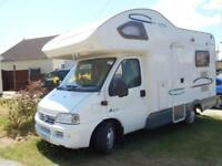 Lunar Champ A521 4 Berth Rear Kitchen Motorhome For Sale