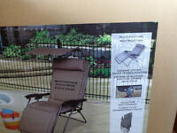 2 NEW IN BOXES, Deluxe Gravity Chairs