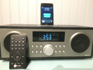 Like-new iPod remote sound system with iPod & box