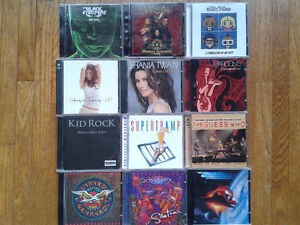 42 music cds for sale, Rock, Country, & Randy Travis Package