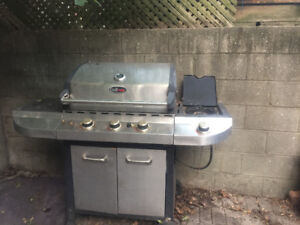 Grillmate Stainless BBQ -$60 *with tank*