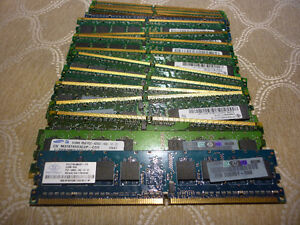 Carte memoire 512 MO DDR2