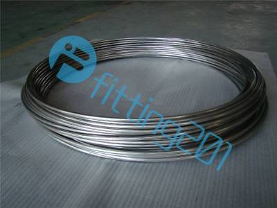 New Flexible Hose Stainless Steel 2m 304 Diameter 3mmtrachea Gas Liquid Tub