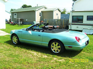 2002 Ford Thunderbird cabriolet Convertible