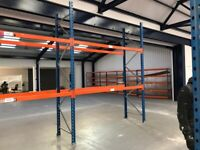 PLANNED STORAGE PSS P85 PALLET RACKING FRAMES BEAMS (Brentwood Branch)