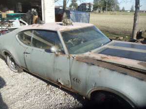 Wanted 60s 70s old cars, parts new or used
