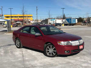 2008 Lincoln MKZ, AWD, Auto, Leather,roof, 3/Y warranty availabl