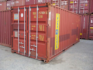 Used and New 20' and 40' Storage Containers for Sale and Rent!