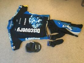 Discovery channel cycling full team kit -XXL