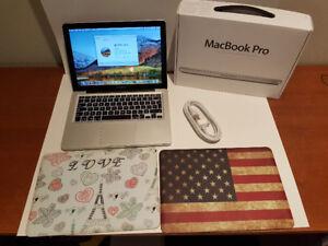 Ordi Apple Macbook Pro Mi 2012 13,3 Pouces, Core i5, 4 Gigs