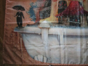 Charlie Chaplin Shower Curtain