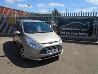2013 (63) FORD B MAX 1.6 POWERSHIFT AUTOMATIC PETROL ZETEC 1 OWNER