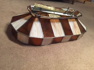 Antique pool table light