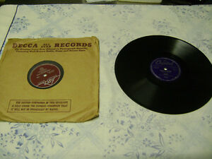 Lot of 35+ 78 RPM records