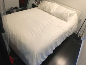 Full/Double Size Mattress and Bed Frame. Can be sold seperatley