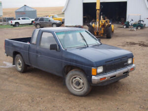 Nissan Hardbody / Frontier With Manual Transmission