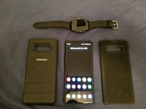 Samsung Galaxy Note 8 + Gear S3 Frontier