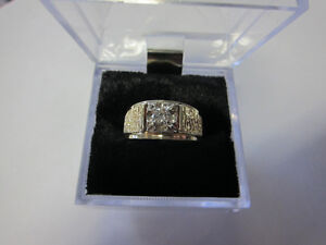 ***Awesome Mens Yellow Gold Diamond Ring***  Why Pay Retail?