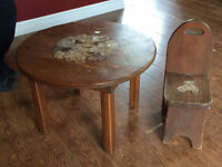 FREE childs table and chair