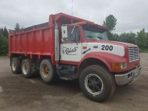 1999 International Tri-axle Dump Truck