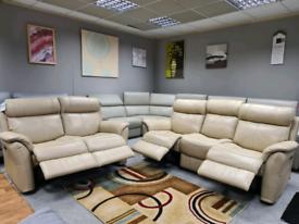 Brand new Genuine Leather Furniture willage 3+2 seater sofa