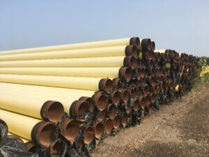 16 inch & 12 inch Culvert Flume Piling Carbon Steel Pipe