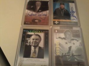 Autograph Upper Deck Cards