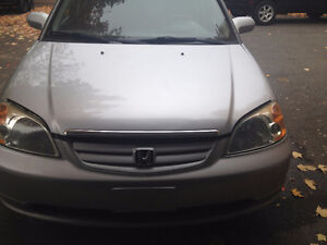 2002 Honda Civic 4 portes Berline