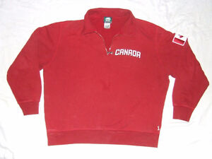 Roots Canada 1/4 Zipper Pull Over Sweater - L - $17.00