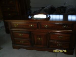 Free chest of drawers, dresser, 2 night stands - pine
