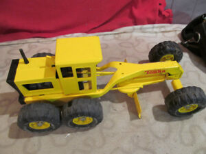 Vintage Functional Steel Tonka Construction Toy - Snow/plow