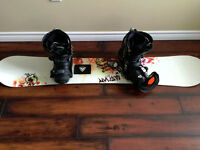 Firefly Snowboard, Boots, and Bindings.