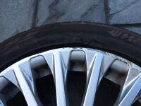 Fiesta titanium 16in spare alloys