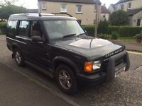 Land Rover discovery 2.5 td5 7 seater mot expired 4x4