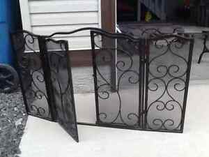 Decorative Fireplace grate/cover
