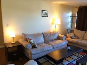 FULLY FURNISHED Condo 2 Bedrooms in Wetaskiwin AB