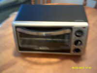 TOASTER OVEN and PORTABLE COOKTOP