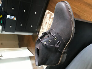 BROWN CHINO BOOTS FROM BROWNS NEW**