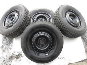 Winter tires, 205/75R15, Hancook I-Pike, off 2006 Dodge Caravan!