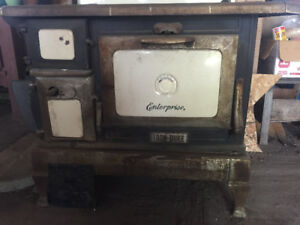 Antique Enterprise Wood Stove