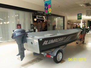Used 2015 Alumacraft Boat Co V14