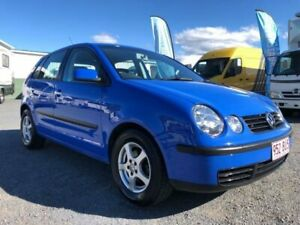 2002 Volkswagen Polo 9N S Blue 5 Speed Manual Hatchback Currumbin Waters Gold Coast South Preview