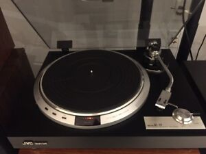 JVC turntable direct drive - top of the line HIFI
