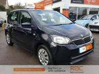 SKODA CITIGO SE GREENTECH Black Manual Petrol, 2014
